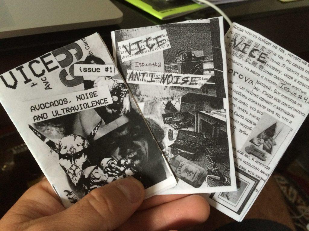 Trio of minizines from Shane in California